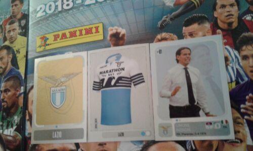 """CALCIATORI 2018-19 Figurine Panini/""""LAZIO/"""" squadra completa!!!"""