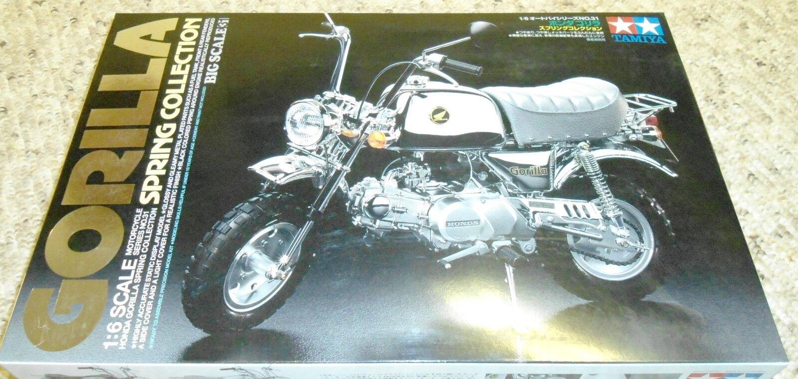 Tamiya 1  6 Honda Monkey Gorilla Spring samling 2000