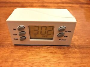 Ge Digital Timer Two Prong Outlet 15445 Includes Manual