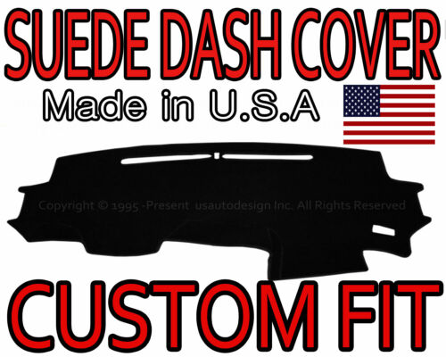 2012-2016 HONDA CRV SUEDE DASH COVER MAT DASHBOARD PAD BLACK