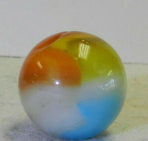 #10806m Colorful Vintage Vitro Agate Shooter Marble .83 Inches