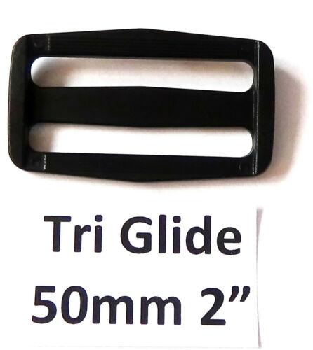 Backpack Belt Tri-Glide Tri-Slide Slider Triglide Slide Buckle Adjustable UK