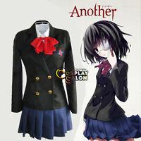 Another Misaki Mei  Girls  Women Ladies Anime Cosplay School Uniform Costume