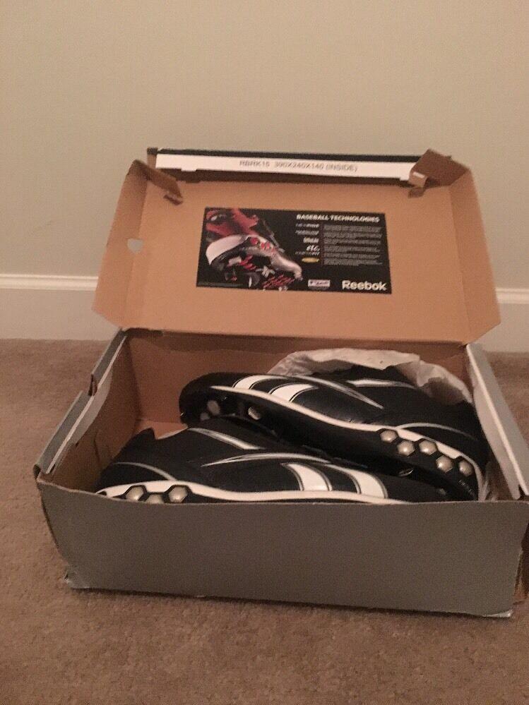 REEBOK Men's Football Cleats High & Low Hexmetal Sports Shoes Sz 15 Multicolor