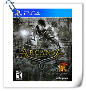PS4-SONY-PLAYSTATION-Game-Arcania-The-Complete-Tale-Action-Nordic-Games-Publish