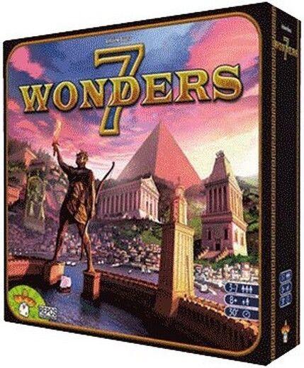 7 Seven Wonders - Jeu de table - Italiano