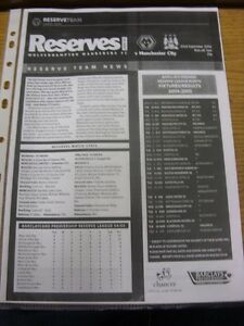 22-09-2004-Wolverhampton-Wanderers-Reserves-v-Manchester-City-Reserves-Single