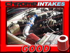 RED 96 97 98 CHEVY SILVERADO//GMC SIERRA C//K C1500 K1500 4.3 4.3L V6 AIR INTAKE