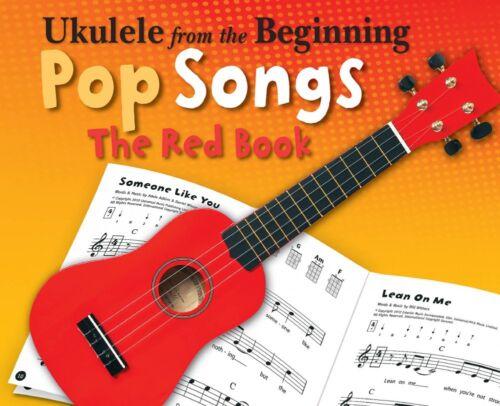 Ukulele from the Beginning Pop Songs Sheet Music The Red Book Ukulele 014042425