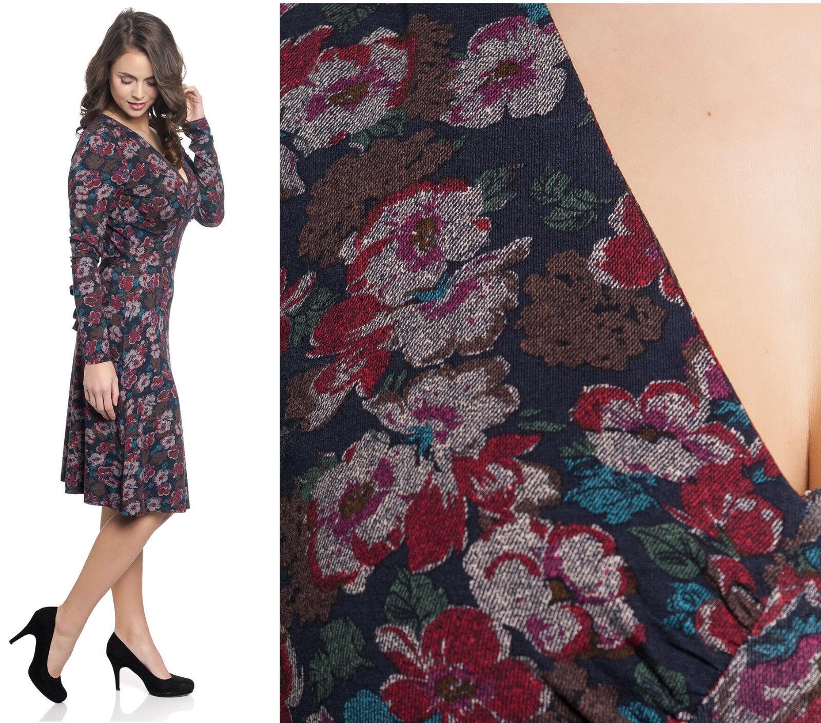 Vive Maria Dress Floral Design Red bluee Brown Gipsy Dress Flower 346880