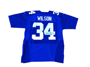 Details about David Wilson Signed New York Giants Rookie Jersey JSA