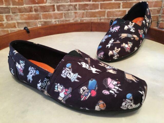 Go Fetch Sporty Dog Slip-ons Flat Shoes