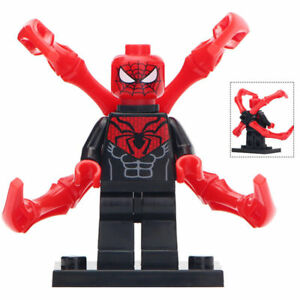 Aninimal Book: Superior Spiderman Minifigure - Marvel Comics Figure For ...