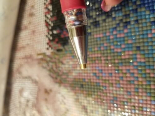 Diamond Painting Pen Stylus Drill Dropper JUST PEACHY Comfort ROUND TIP