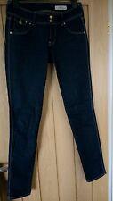 H&M SQIN Indigo Skinny Jeans (27in waist/32in leg) VGC