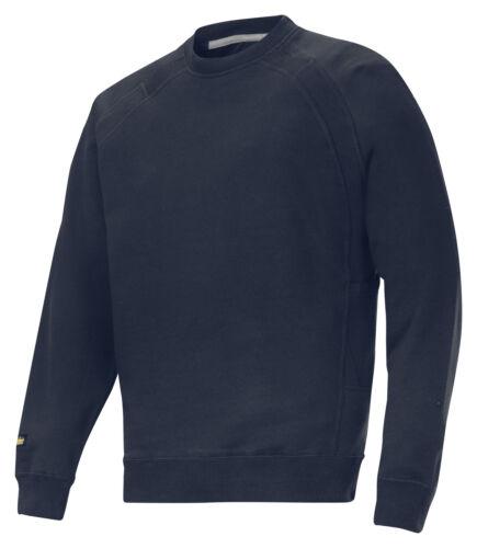 Mens 2812 Black Sweatshirt Snickersdirect Heavy Snickers xUd0taa