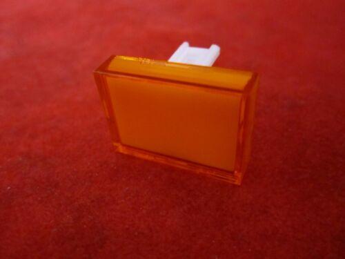 DECA Rectangular Flat Color Lens Orange 50-002-13