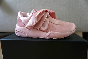1b8bb869954 Puma X Rihanna Fenty Bow Sneaker Sliver Pink UK3 3.5 4 4.5 5 5.5 6 ...