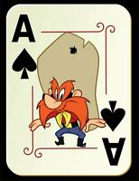 Yosemite Sam Fridge Magnet. 4 X 5. Ace Of Spades. Free Shipping