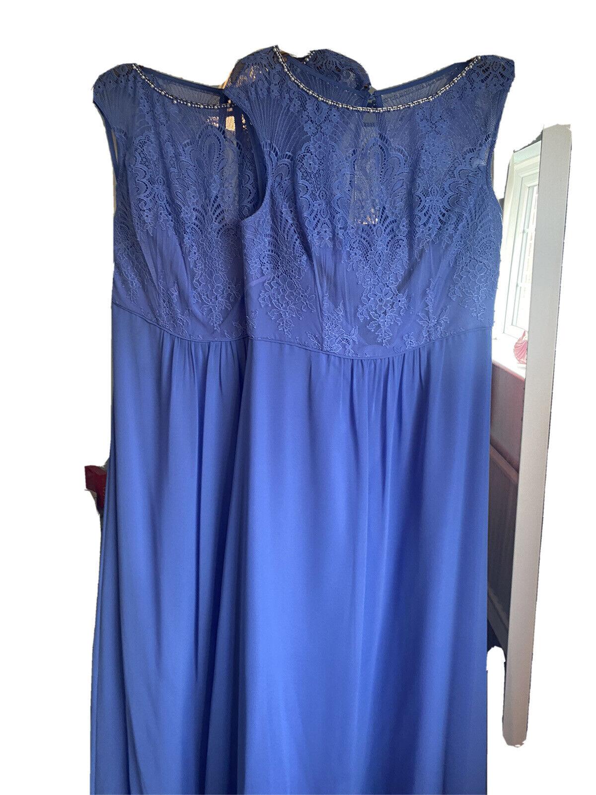 X 2 Size 12 Bridesmaid Dresses