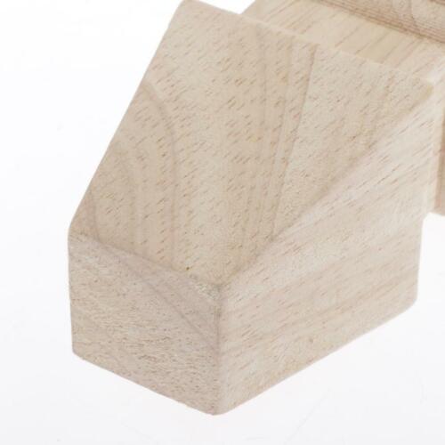 4 Stk Möbelfüße Holz Schrankfüße Sofafüße Möbel Sofa Schrank Füße 10cm Höhe