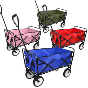 Superb Image Is Loading Collapsible Folding Wagon Cart Utility Garden Toy Buggy