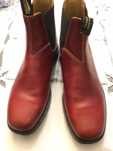 Blundstone Mens Dress Redwood Leather Ankle Boots