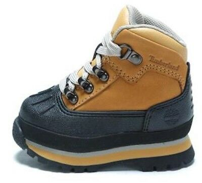 Sinis Agente de mudanzas alfiler  TIMBERLAND Toddler's Euro Hiker Shell Toe Boot A2LVL WHEAT (msrp ...