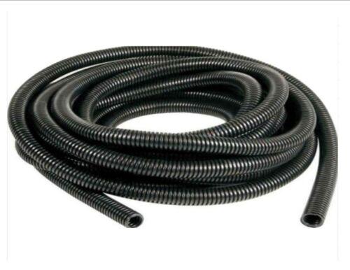 split // non-split Black spiral conduit 23mm. Tube pipe cable wire tidy 6.5mm