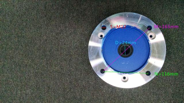 Electric motor Flange shaft 24mm, B5 GL-90