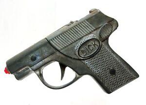 VINTAGE HUBLEY DICK DIE CAST CAP GUN #210 W/ BOX~NICE
