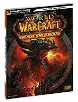 World Of Warcraft Cataclysm Brady Games Strategy Guide - Pc - Mac Os X 10.6