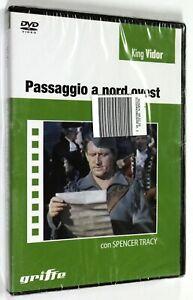 DVD-PASSAGGIO-A-NORD-OVEST-1940-Avventura-Spencer-Tracy-SIGILLATO