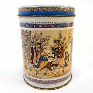 Ben-Rickert-Inc-Persian-Canister-Middle-Eastern-Ottoman-Collector-039-s-Tin