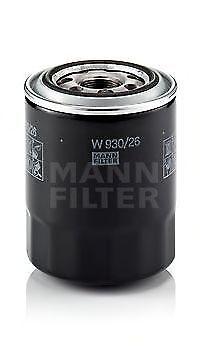 Filtro olio MANN-FILTER W93026 HYUNDAI KIA