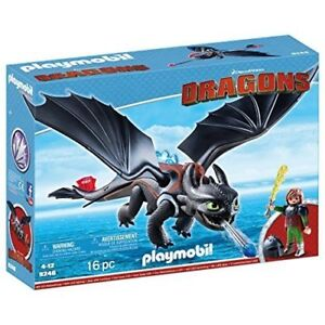 Playmobil 9246 - Dragons Hipo And Toothless Nouveau