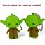 Star Wars Baby Yoda Figure music and light Keychain