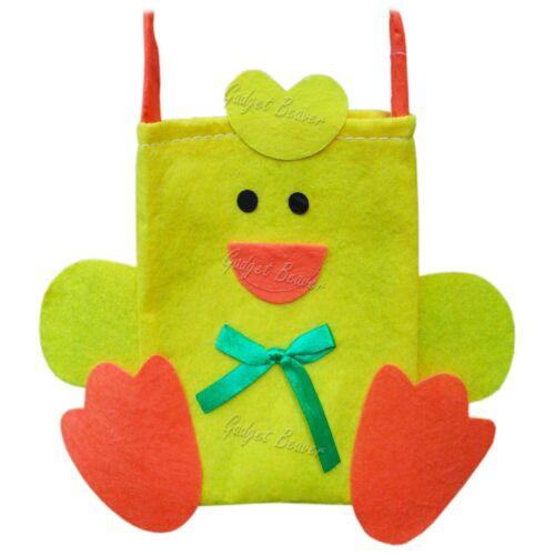 FELT Easter Gift Bags Treat Bag Party Filler Favor Chocolate Eggs Egg Handle