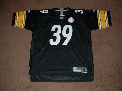 693279a56a4 WILLIE PARKER 39 PITTSBURGH STEELERS PREMIER HOME FOOTBALL JERSEY X-LARGE  NEW 50%OFF