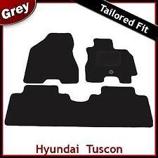 HYUNDAI TUCSON Mk1 2004 - 2010 montato su misura moquette tappetini Grigio