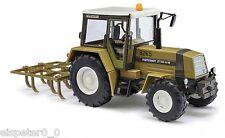 Busch 50415 Traktor ZT 323- A/M mit Schwergrubber, H0 Auto Modell 1:87