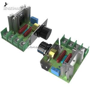 1/2/5/10PCS 2000W 220V Speed Control AC SCR Electric Voltage Regulator Motor