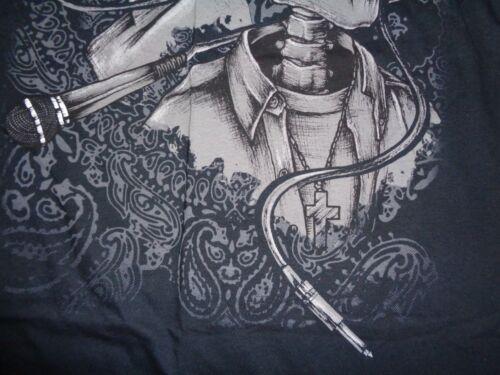 Tupac Eazy E Gangster Rap Rock Music Skeleton Bones T Shirt Mens S-3XL New