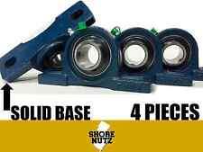 "(4 PCS)  1"" Bore ""SOLID BASE"" Self-Aligning Pillow Block Bearing, UCP205-16 P205"