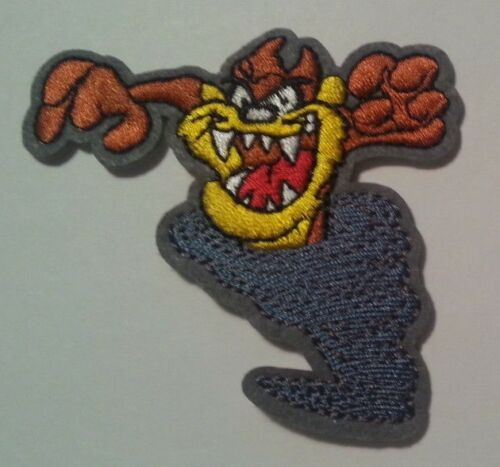 """Tasmanian Devil~Embroidered Patch~3 1//8/"""" x 3/""""~Looney Tunes~Iron or Sew"""