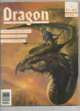 Dragon Magazine - Issue 154 - TSR AD&D 2nd Edition - RPG - February 1990