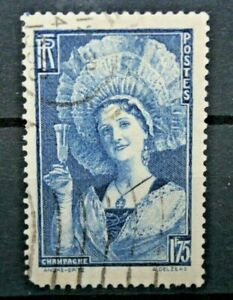 FRANCIA-1938-034-SOGGETTI-ARTE-034-FRANCOBOLLO-TIMBRATO-USED-CAT-A