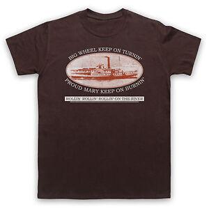 Inventif Fier Mary Creedence Rock Ccr T-shirt Non-officiel Homme Femme Tailles Enfants Couleurs-afficher Le Titre D'origine