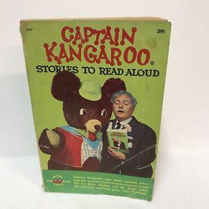 Captain-Kangaroo-Stories-To-Read-Aloud-VTG-1958-Wonder-Book-Irma-Wilde-Paperback