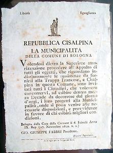 1800-239-BOLOGNA-BANDO-REPUBBLICA-CISALPINA-APPALTO-OGGETTI-PER-TRUPPA-FRANCESE
